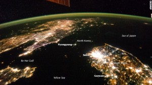 Where did North Korea go? Pyongyang looks like a tiny island in a sea of darkness in recent photos captured by NASA